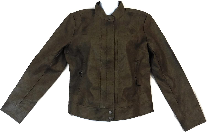 Super sale Bernardo Ladies' Fashion Jacket Large Grey It is very popular -