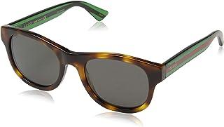 Gucci Men's Sunglasses Oval GG0003S, Green