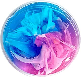 KINGOLDON Beautiful Rainbow Cloud Slime Water Slime Relief Children Kid Funny Toy Gift E