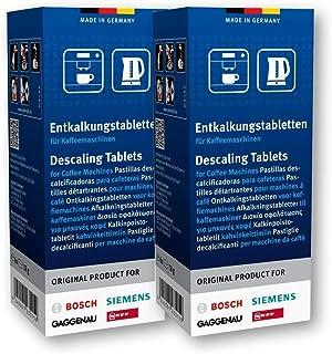 12 pastilles détartrantes pour machines à café Bosch Siemens Neff Gaggenau n° : 310967