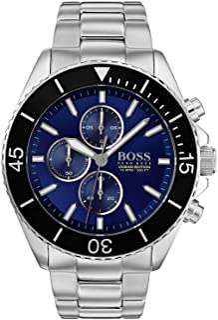 Hugo Boss Ocean Edition Men's Blue Dial Leather Watch - 1513704