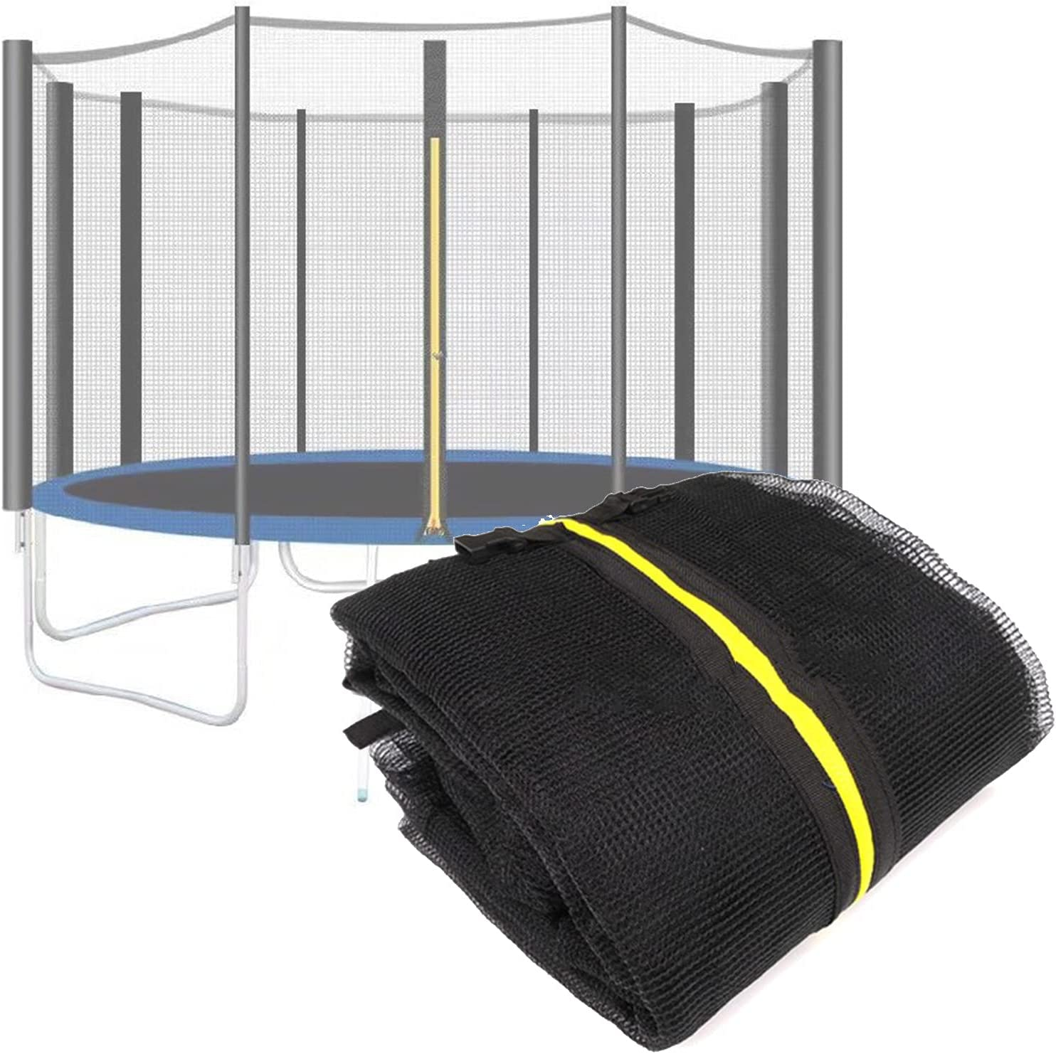 Cheap mail order shopping KHXJYC Trampoline Outer NEW before selling Net Guard Accessories