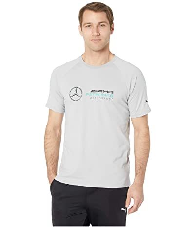 PUMA Mercedes AMG Pertronas Logo Tee (Mercedes Team Silver) Men