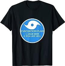 Hurricane Evacuation Plan Funny T-Shirt