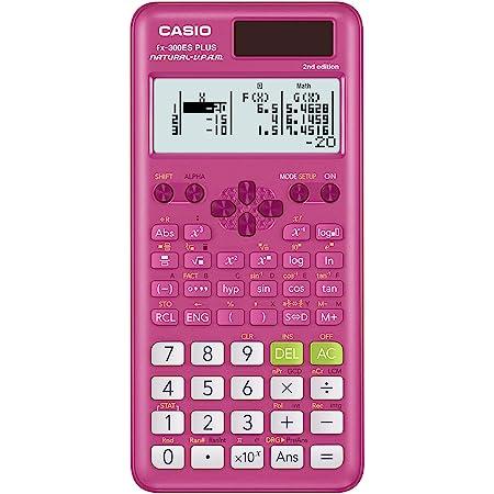 Casio fx-300ESPLS2 Pink Scientific Calculator