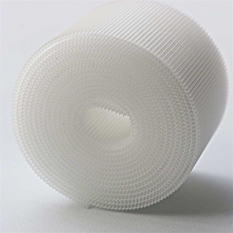 correa m/ágica color: blanco, 11 cm, ancho 1 m gancho de cierre accesorios de costura ZHAOFANGSTORE Cinta de velcro de 3 cm//5 cm//11 cm ambos lados