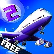 Plane Sky Flight Radar Mission 2 : The Airport 911 Panic Control Tower - Free Edition
