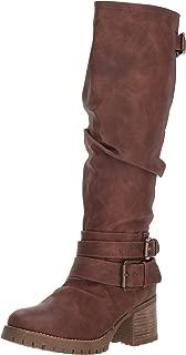 riding heel boots