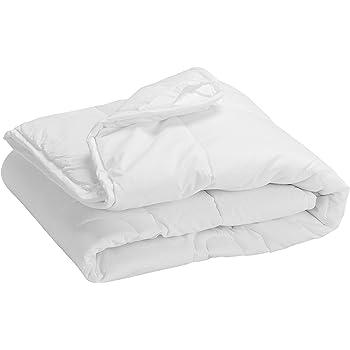 Pikolin Home - Edredón/Relleno nórdico de fibra, antialérgico (antiácaros, bacterias y moho), 100% algodón, 250gr/m², 150x220cm-Cama 80/90