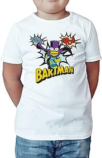 Bartman Kapow Official Kid's T-Shirt (White)