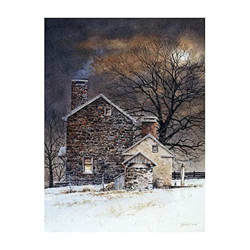 The Mill Bridge by Ray Hendershot Art Print Country Landscape Poster 24x36