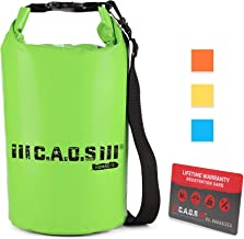 Floating Waterproof Dry Bag, 10L/15L/20L/30L, with Shoulder Strap - Lightweight, Durable Roll Top Dry Bags for Boating, Rafting, Canoeing - Premium Kayaking Accessories and Sailing Gear