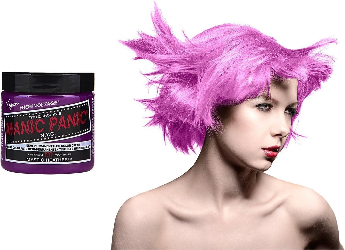 Manic Panic tinte de pelo incluido libre Dye Remover Limpiador | elegir su color rojo, Vírgenes nieve