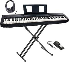 Yamaha P-45 Ultra Platinum Keyboard Package With Headphones,