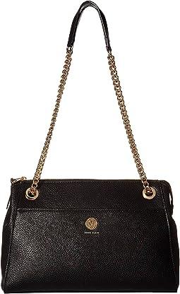 Chain Toggle Shoulder Bag