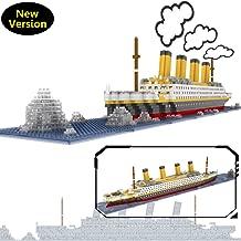 OneNext Titanic Model Building Block Set 1900pcs - Nano Mini Blocks DIY Toys(with Origin Package Box and Useful Tool)