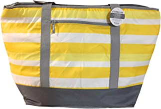California Innovations 12 Gallon Insulated Mega Yellow Bag: for Frozen Food, Perishables and Hot Food (Yellow)