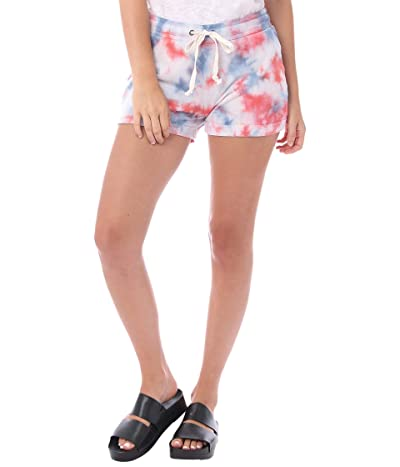 Alternative Cozy Tie-Dyed Lightweight French Terry Shorts