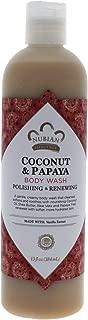 Best nubian coconut papaya body wash Reviews