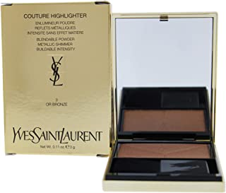 Yves Saint Laurent Couture Highlighter, 3 Or Bronze, 3 g
