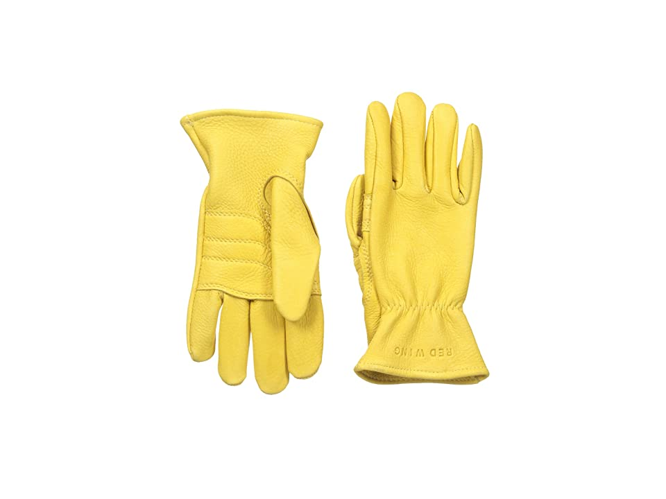 Red Wing Heritage Unlined Gloves (Yellow Deerskin) Cycling Gloves