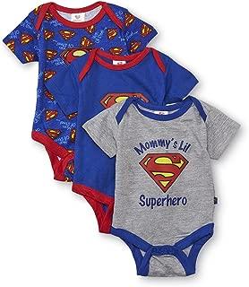 newborn superman onesie