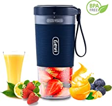 Mini Personal Portable Cordless Juicer, Small 10oz Juice Cup Smoothie Maker With USB Rechargeble Fruit Juicer Mixer for Travel,Office,Gym-IP68 Waterproof&BPA Free