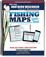 Vilas Area Northern Wisconsin Fishing Map Guide (Fishing Maps from Sportsman's Connection)