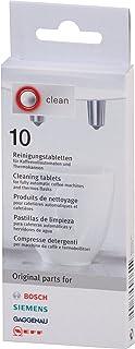 Bosch - Pastillas para limpiar cafeteras (10 unidades)