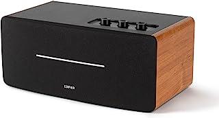 Edifier D12 Bookshelf Speaker - Integrated Desktop Stereo Bluetooth Speaker - Wireless Computer Speaker for Desktop Use- 7...