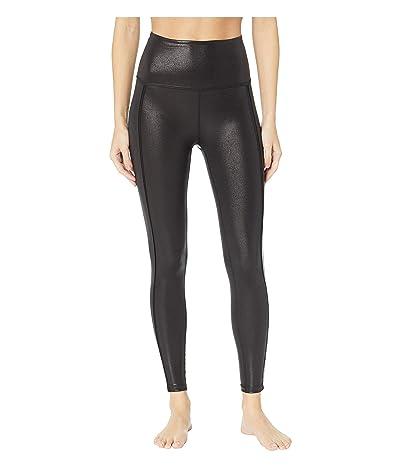 Beyond Yoga Ride It High-Waisted Midi Leggings (Black) Women