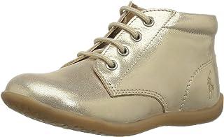 POLO RALPH LAUREN KINLEYGOLDSHIMMER Unisex Kids First Walker Shoe