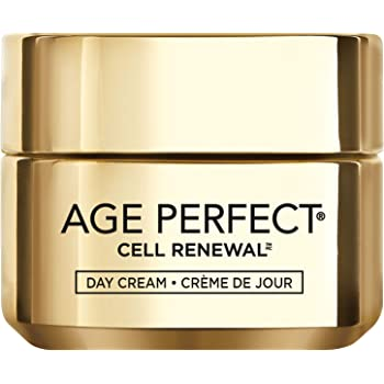 Face Moisturizer, L'Oreal Paris Age Perfect Cell Renewal Skin Renewing Day Cream with SPF 15 Sunscreen with Salicylic Acid to Stimulate Surface Cell Turnover for Visibly Radiant & Vibrant Skin, 1.7 oz