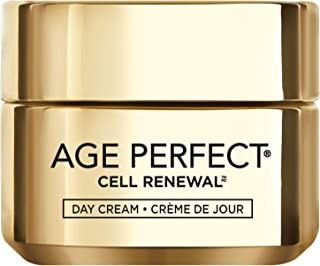 L'Oreal Paris Skincare Age Perfect Cell Renewal Skin Renewing Day Cream with SPF 15, Face Moisturizer with Salicylic Acid to Stimulate Surface Cell Turnover for Visibly Radiant & Vibrant Skin, 1.7 oz