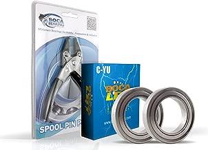Lew's Tourney Pro YZ Bearing Upgrade Kit & Spool Pin Pliers Combo