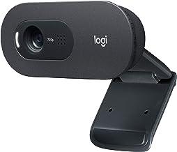 Logitech C505 Webcam 720p HD webcam with long-range mic (Renewed)