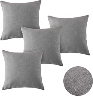 Amazon.es: cojines para sofa grises Deconovo