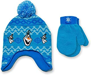 Toddler Boys' Peruvian Hat and Mitten Set One Size Fit Most - Olaf