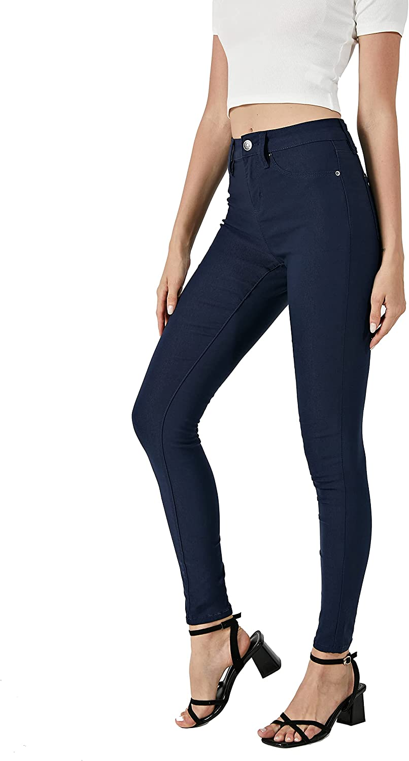 CNROS Women's Hyper Ultra Stretch Skinny Midrise All items free shipping Co Comfy Pants Over item handling ☆