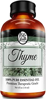 4oz Bulk Thyme Essential Oil – Therapeutic Grade – Pure & Natural Thyme Oil
