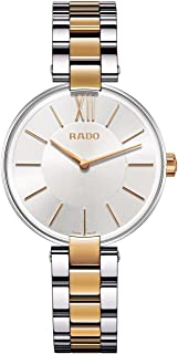 Rado Coupole Silver-Toned Analog Watch for Women R22850103