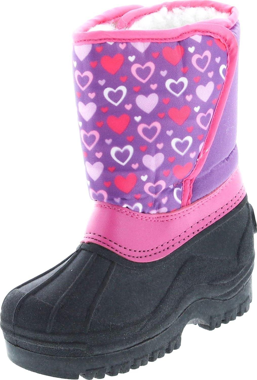 Static Footwear Kids Easy Slip On Waterproof Warm Winter Boots