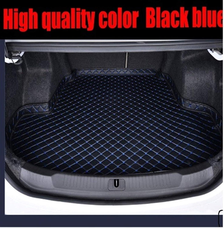OLDJTK Coffre de Voiture Tapis de Voiture Coiffeuse Tapis for Mercedes Benz GLA 200 220 250 260 200 260 GLC 220d 220d 250d 350e 300 AMG Coupe Color : High sid Black Beige