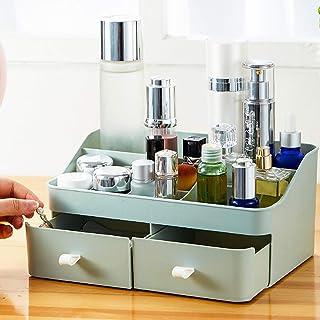 Make-updoos, Multifunctionele Plastic Kaptafel Voor Tafelblad, Met Laden En Compartiment, Voor Cosmetica, Sieraden, Access...