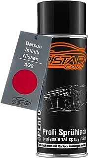 TRISTARcolor Autolack Spraydose für Datsun/Infiniti/Nissan AG2 Red Basislack Sprühdose 400ml