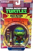 Animewild Teenage Mutant Ninja Turtles Ooze Action Glow in The Dark Series Leonardo Action Figure