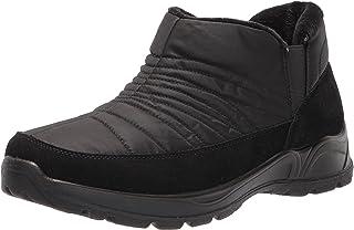 حذاء برقبة طويلة حريمي Jax Snow من Easy Street، أسود/نايلون/مبطن، 10