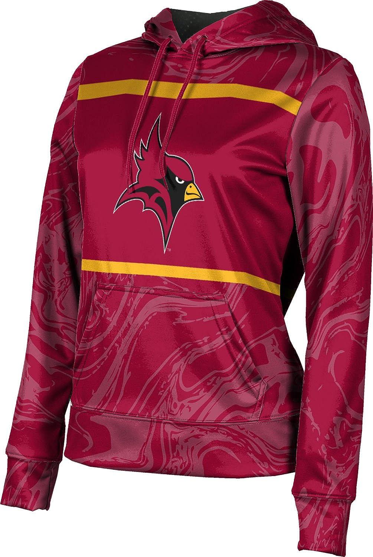 St. John Fisher College Girls' Pullover Hoodie, School Spirit Sweatshirt (Ripple)