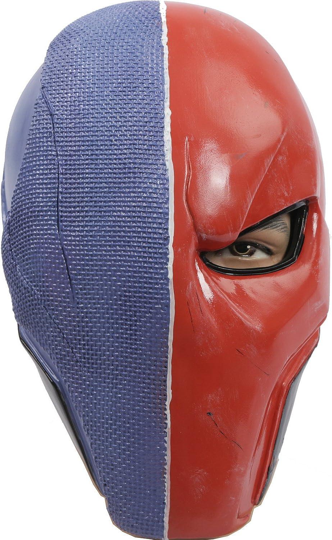 Dstroke Mask Deluxe PVC Red orange Version Cosplay Stroke Halloween Cosplay Helmet