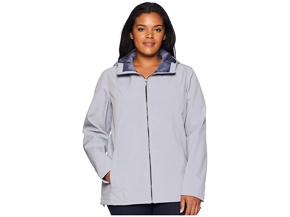 Columbia Plus Size Kruser Ridgetm Plush Softshell Jacket (Astral) Women